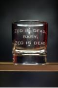 """Бокал для виски """"Zed is dead"""""""