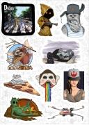 """Набор виниловых стикеров №5 """"Star Wars"""""""