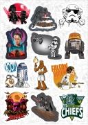 """Набор виниловых стикеров №1 """"Star Wars"""""""