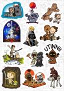 """Набор виниловых стикеров №2 """"Star Wars"""""""