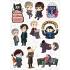 """Набор виниловых стикеров №50 """"Sherlock"""""""