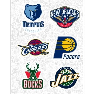 """Набор виниловых стикеров №36 """"NBA"""""""